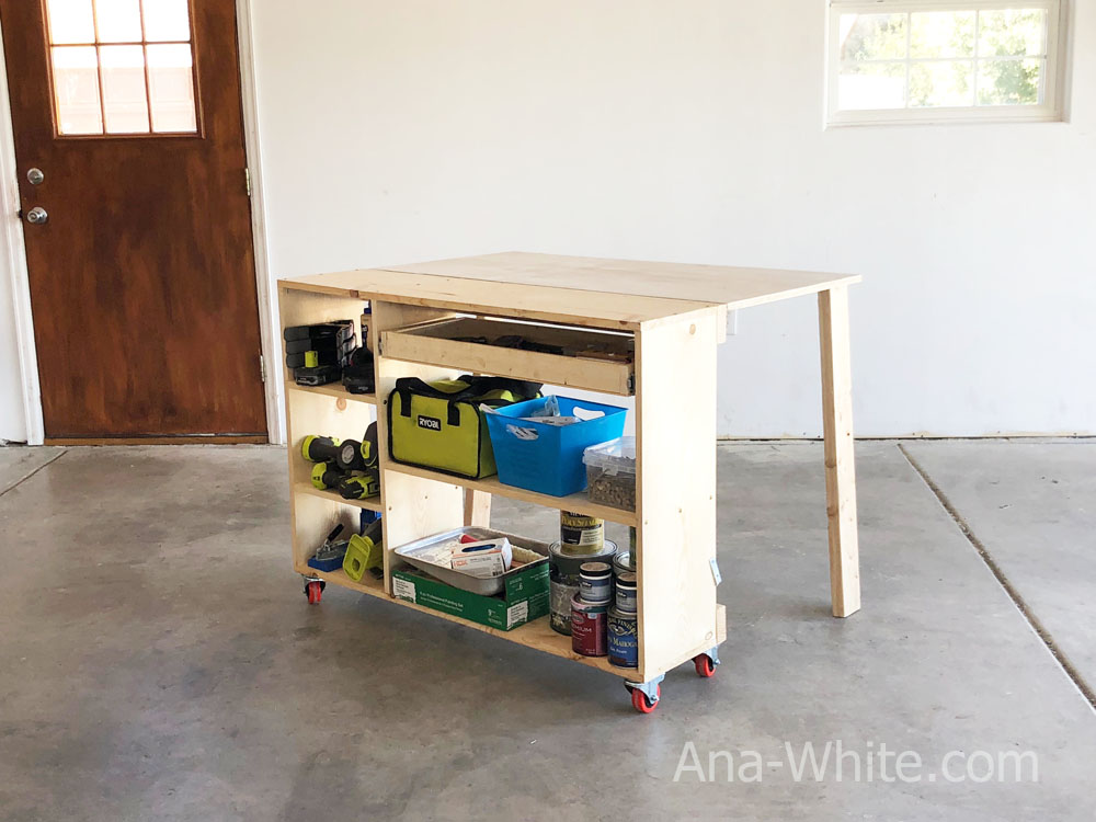 Marvelous Folding Workbench Ana White Cjindustries Chair Design For Home Cjindustriesco