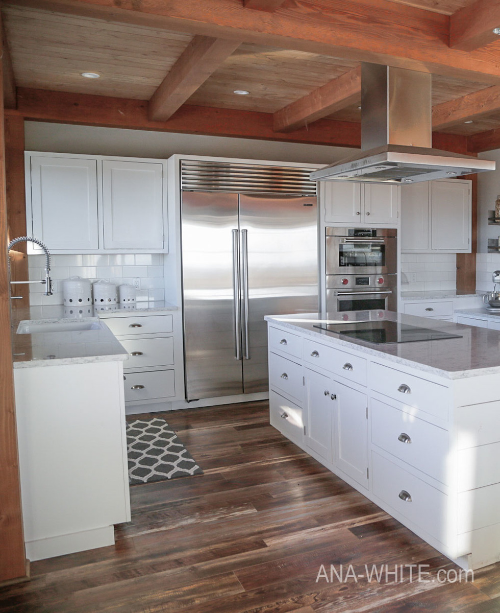 Modern Farmhouse Kitchen Almost Done Ana White