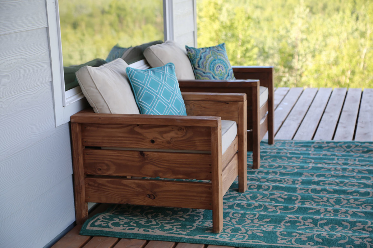 Wood Furniture For Deck