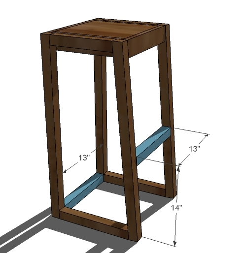 DIY Wood Design: Share Adjustable shop stool woodworking plan