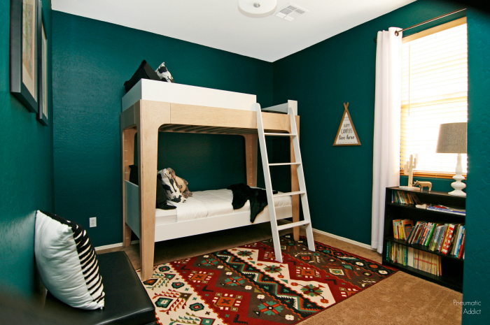 Ana White Modern Bunk Beds Diy Projects