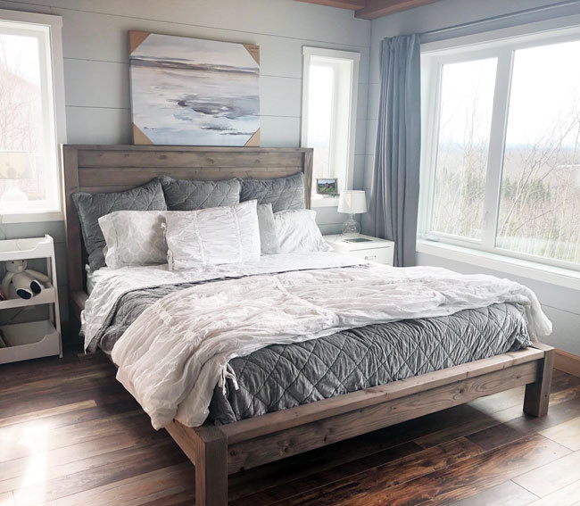 Modern Farmhouse Bed