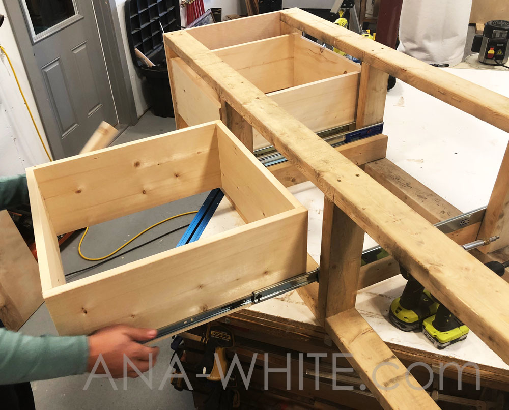 Incredible Mudroom Bench With Easy Drawers Ana White Cjindustries Chair Design For Home Cjindustriesco