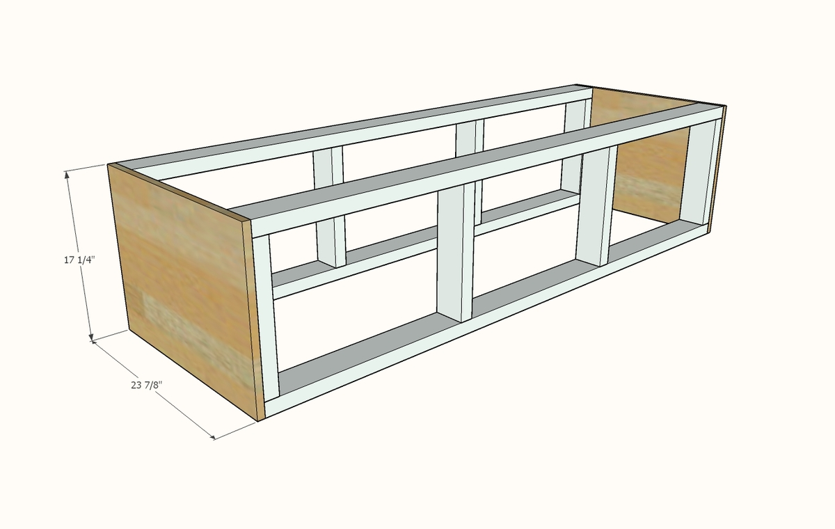 Awe Inspiring Mudroom Bench With Easy Drawers Ana White Alphanode Cool Chair Designs And Ideas Alphanodeonline