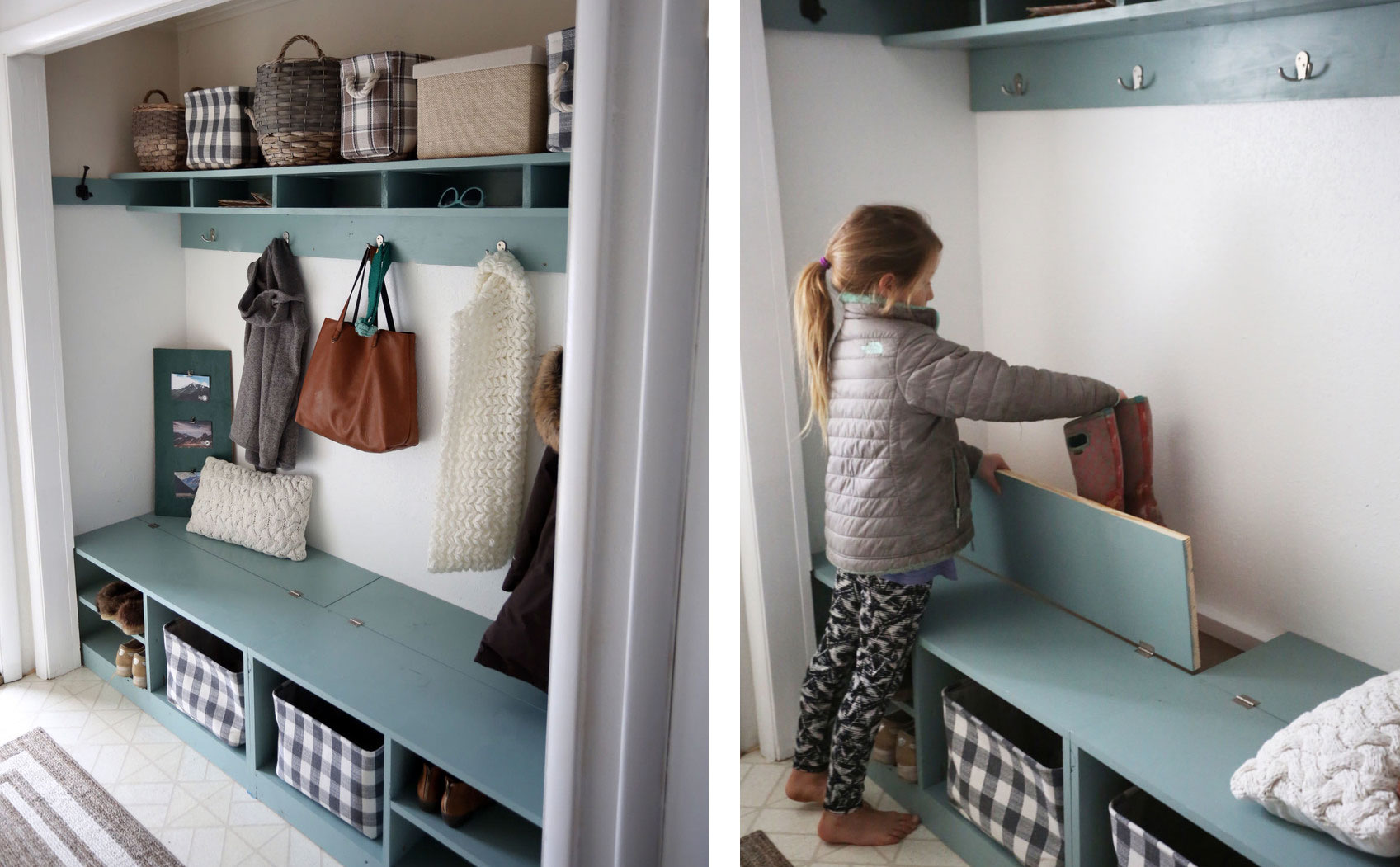 Surprising Closet Mudroom Bench With Hinge Up Boot Storage Compartment Dailytribune Chair Design For Home Dailytribuneorg