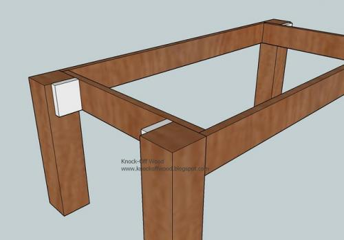 Ana White Tryde Coffee Table DIY Projects