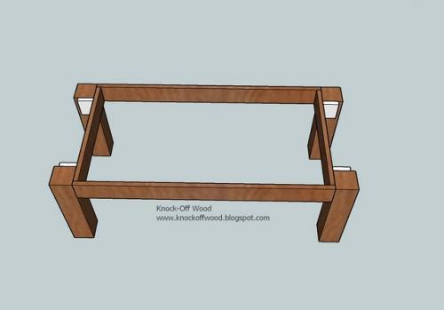 simple coffee table designs. Now Add The End Apron Spacers, D, As Shown Above. Screw Into Legs And Also From Inside Of B, Leg Joiner, Edge D. Simple Coffee Table Designs E