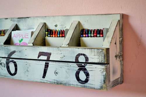 Very Ana White | Numbered Cubbies on the Wall - DIY Projects HB18