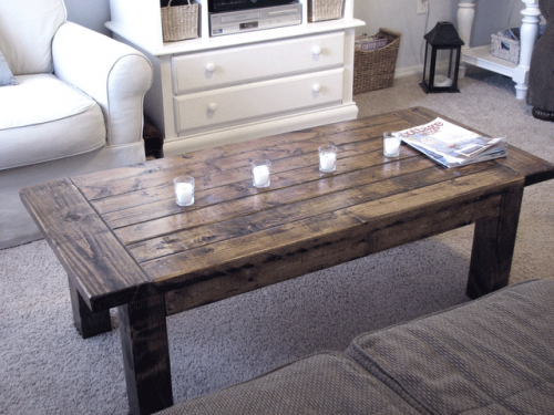 ana white | tryde coffee table - diy projects Wooden Coffee Table Plans