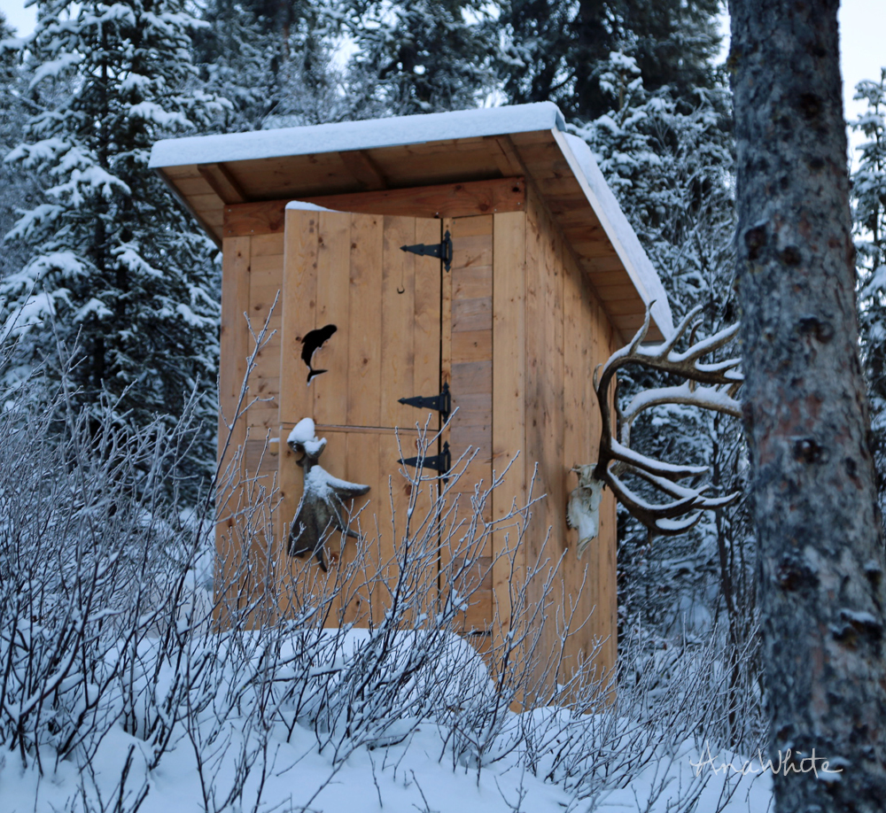 Ana white outhouse plan for cabin diy projects for Outhouse pictures