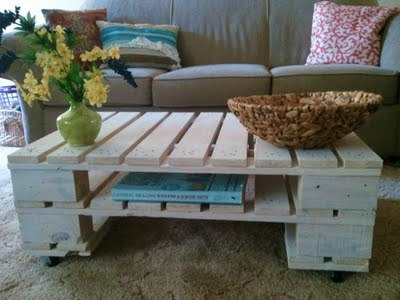 Ana White Pallet coffee table DIY Projects