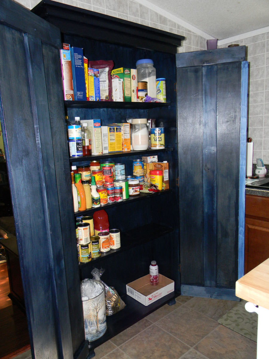 Simplest Armoire As Kitchen Pantry