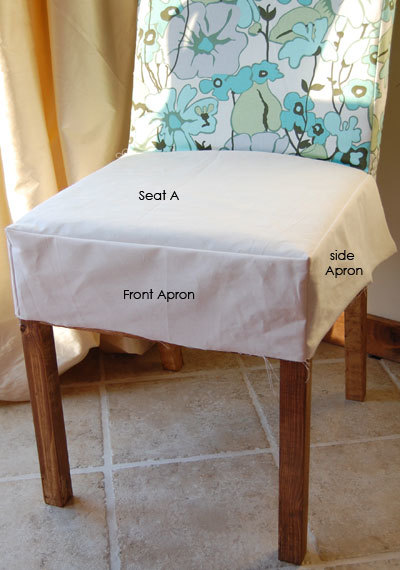 Ana White | Drop Cloth Parson Chair Slipcovers - DIY Projects