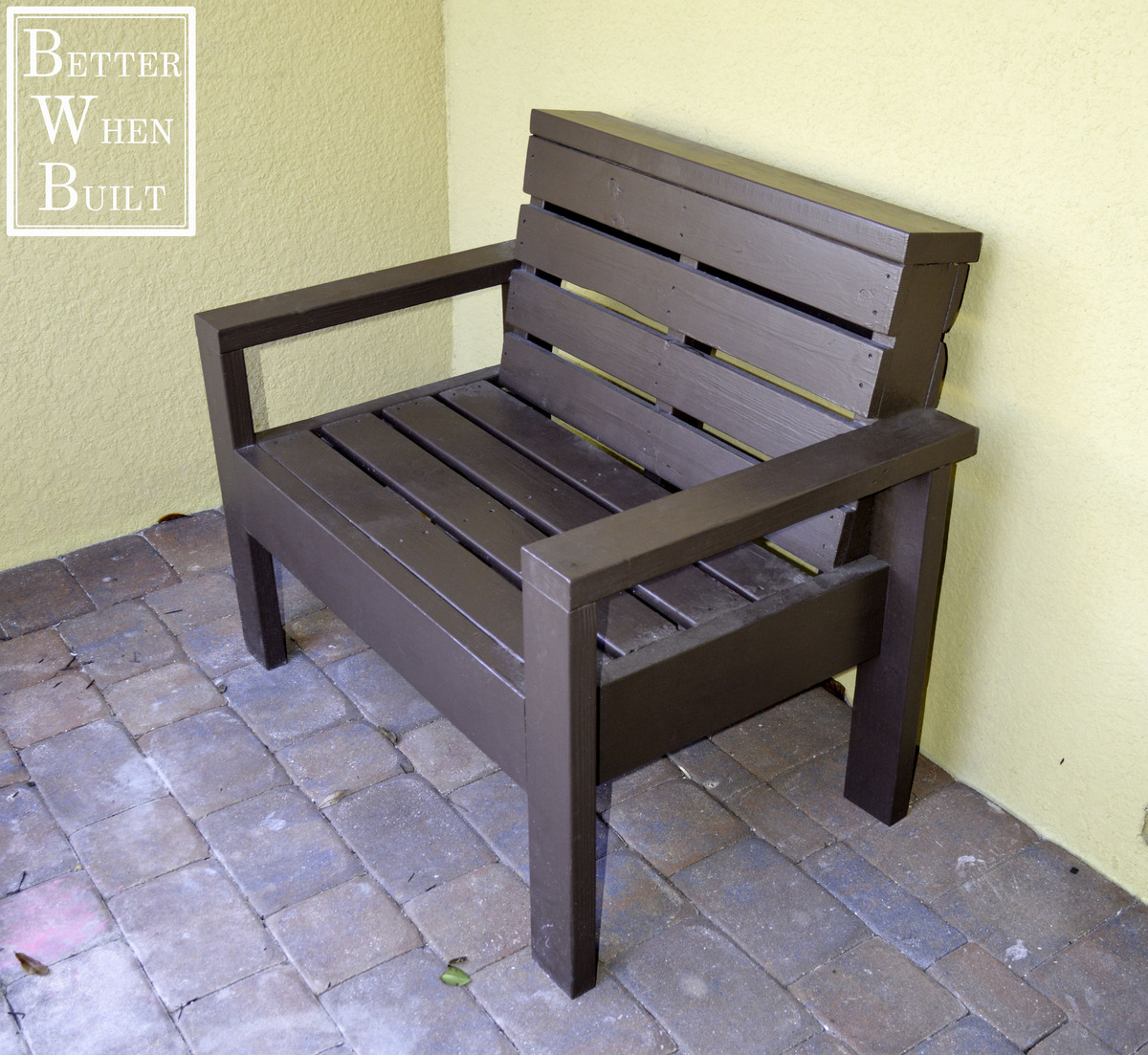 Ana White Pallet Bench Diy Projects