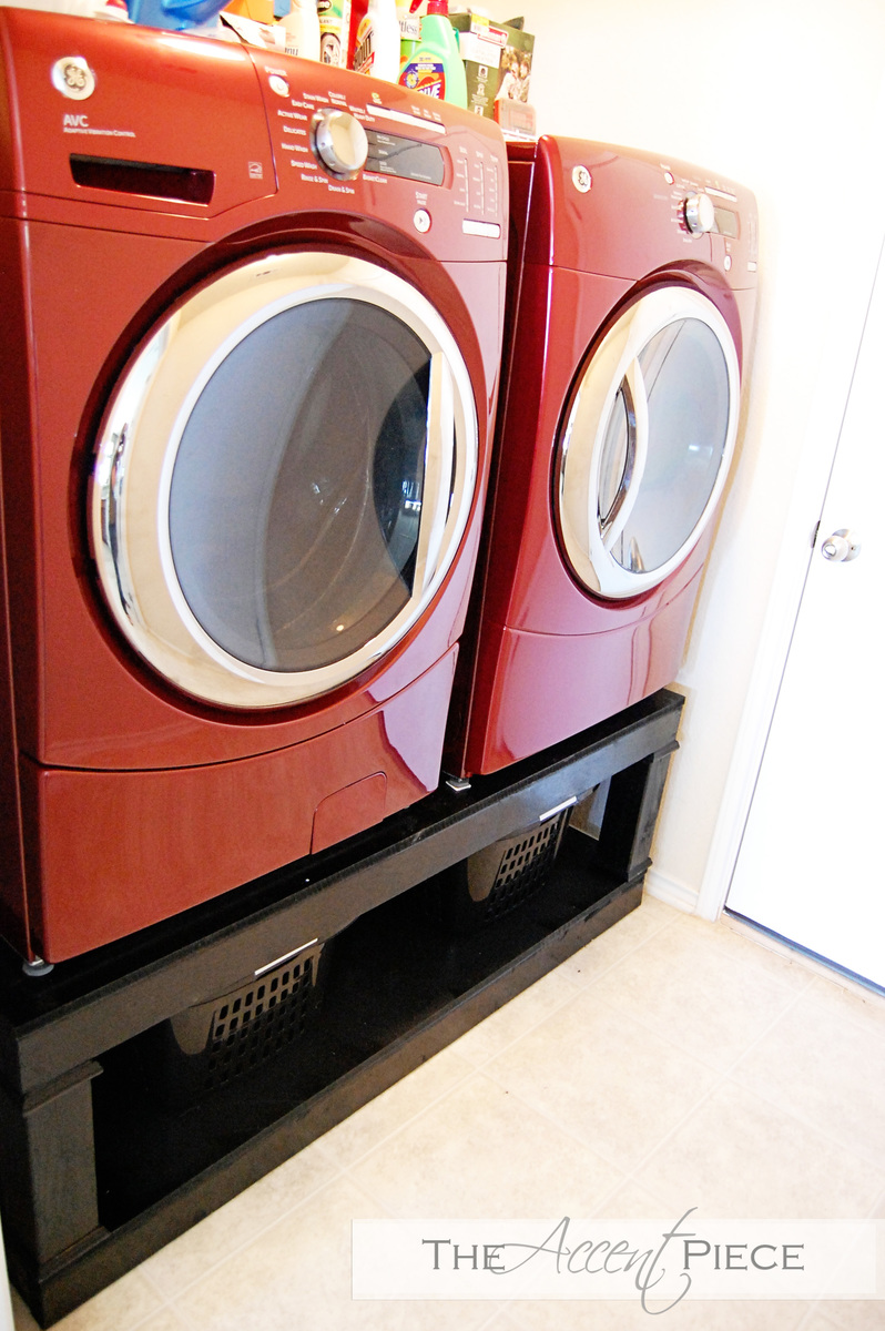 Ana White Washer Dryer Pedestal Diy Projects