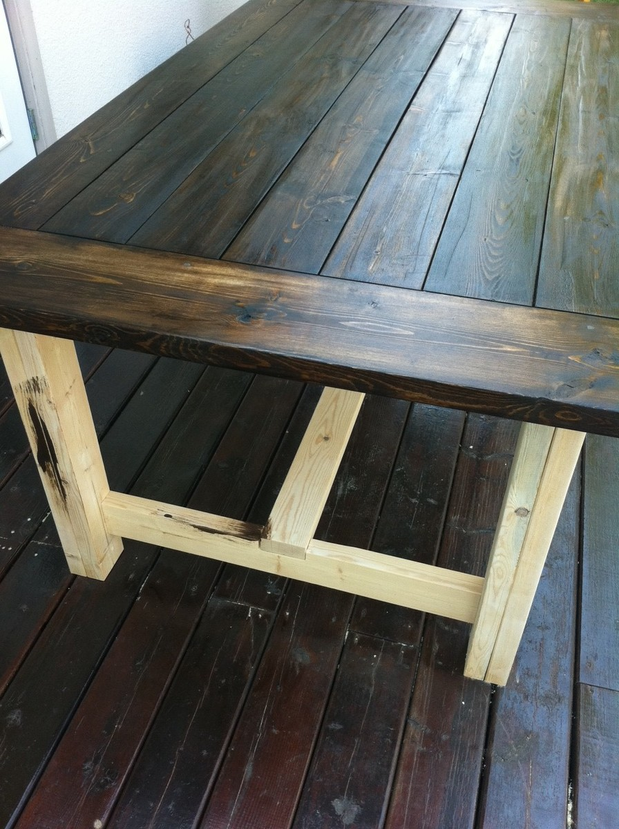 Ana White My Farmhouse Dining Table DIY Projects : photo 46 from ana-white.com size 968 x 1296 jpeg 352kB