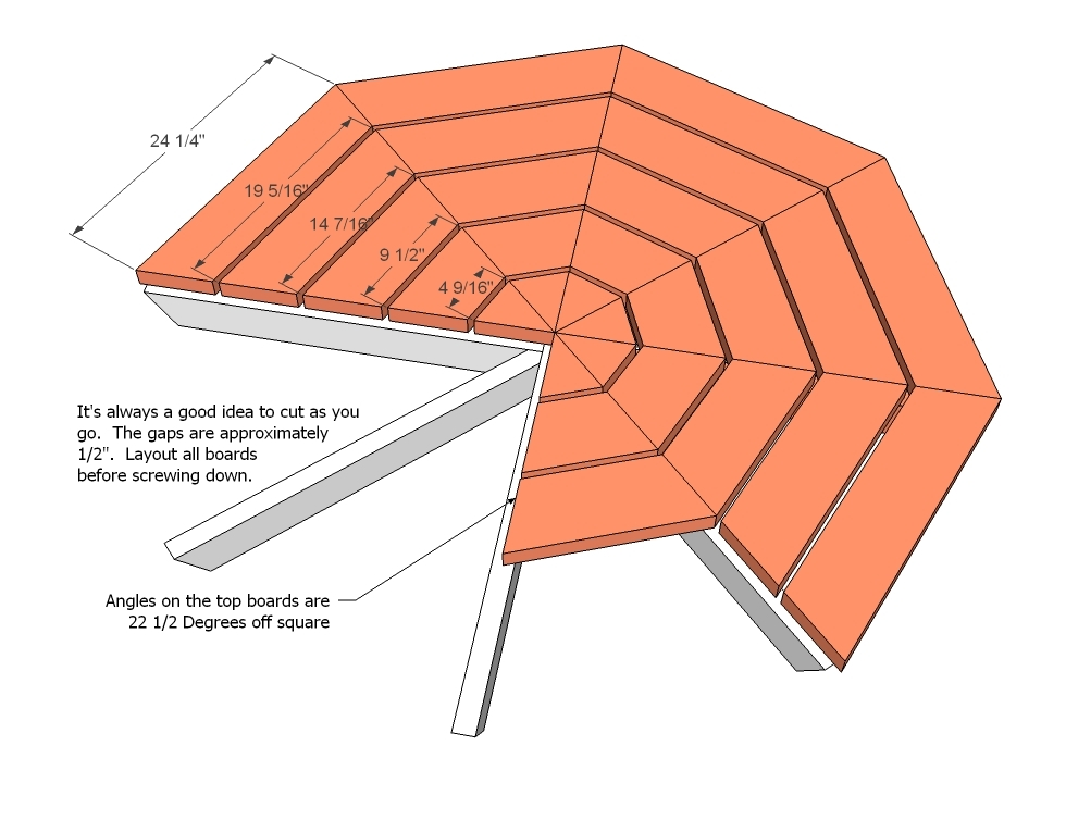 PDF Plans Picnic Table Octagon Plans Free