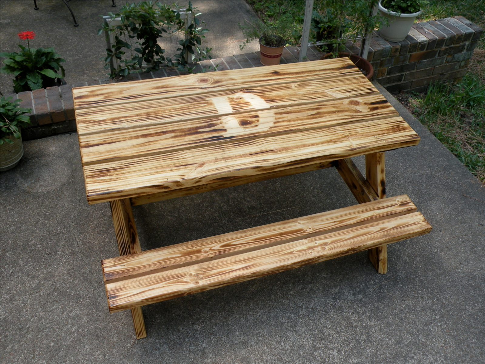 Child Picnic Table | Do It Yourself Home Projects from Ana White