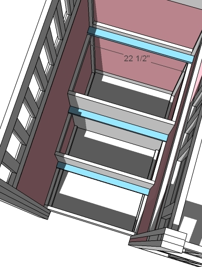 ana white storage stairs for the playhouse loft bed diy projects. Black Bedroom Furniture Sets. Home Design Ideas