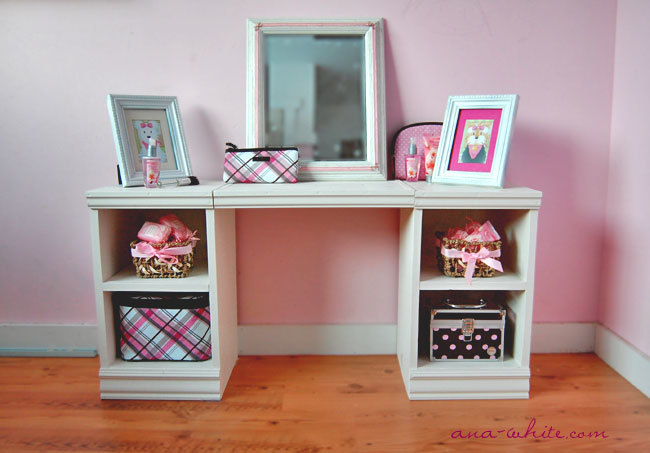 Ana White Play Vanity DIY Projects