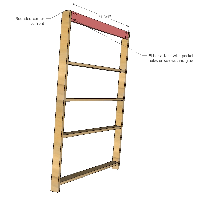 Mark Location Of All Shelves And Predrill Holes You Can Either Use The Kreg Jig Or Countersunk Screws From Outsides