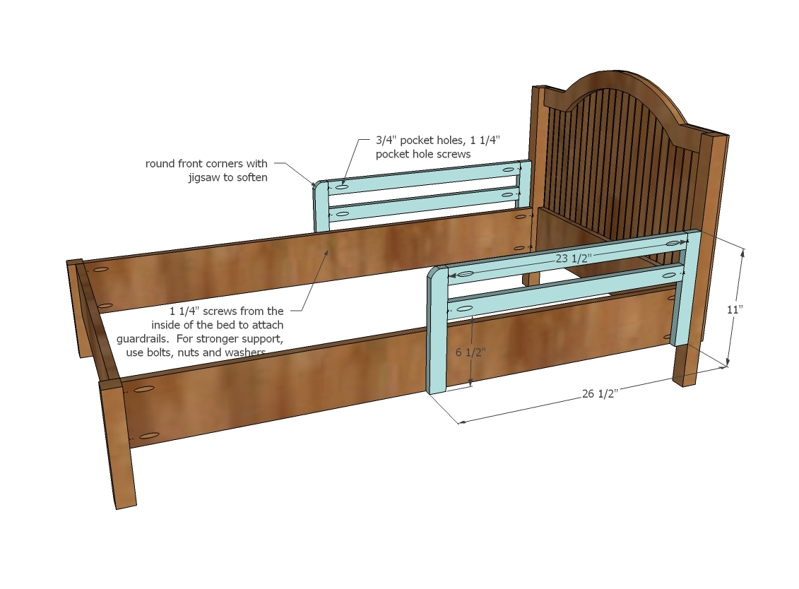 Rubert and Work: Here Twin bed free woodworking plans uk