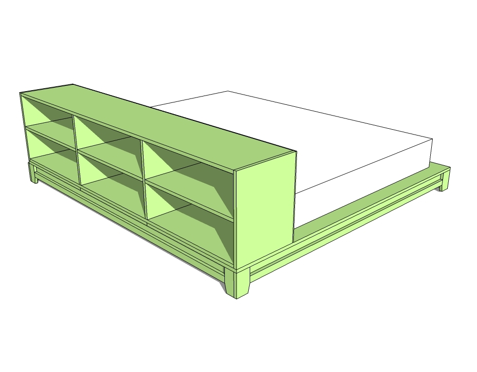Plans To Build Platform Bed With Storage | Joy Studio ...