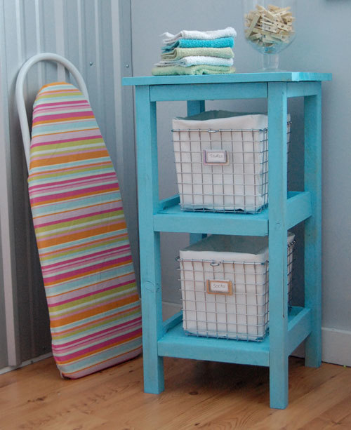 Ana White Wire Basket Bath Storage Tower Diy Projects