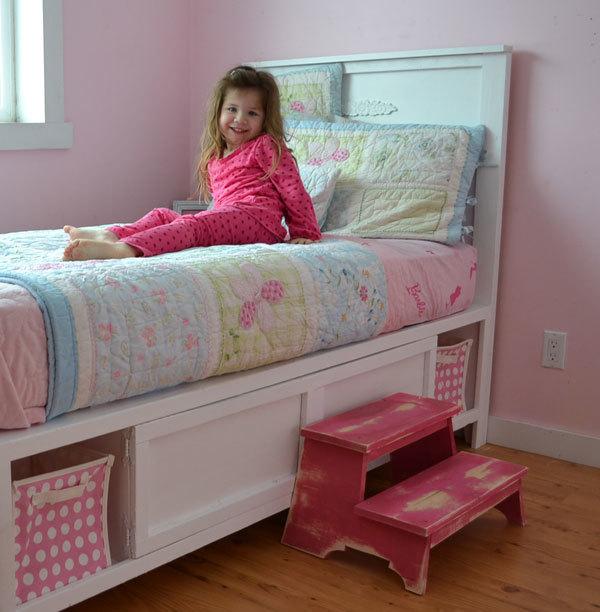 Hailey Storage Bed Twin