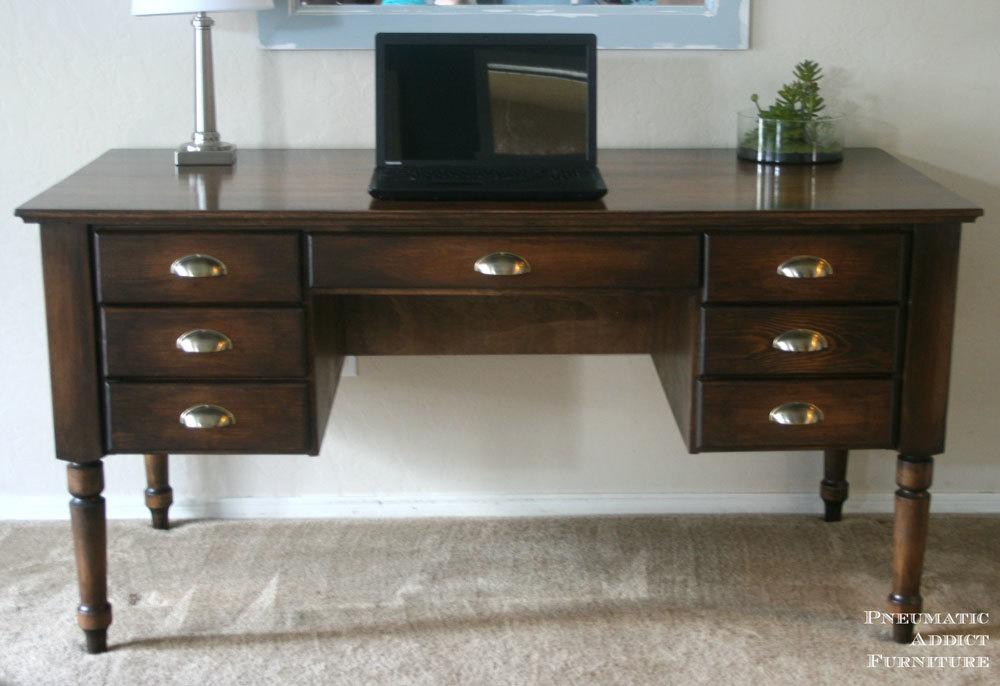 Super Ana White   Turned Leg Traditional Desk - DIY Projects QK06