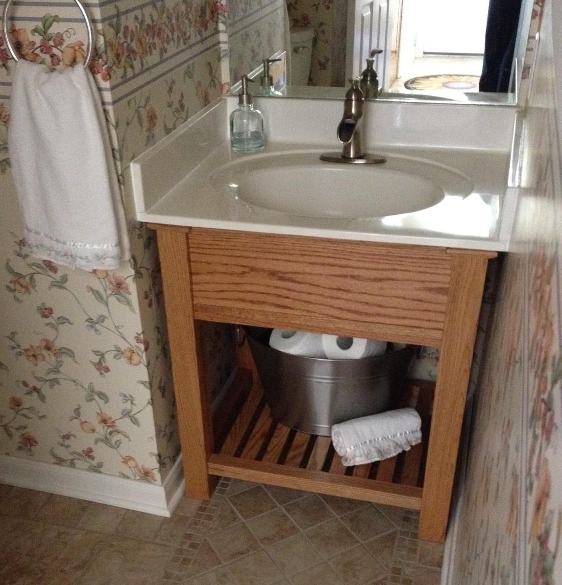 Transitional Bath Room Vanity Ana White