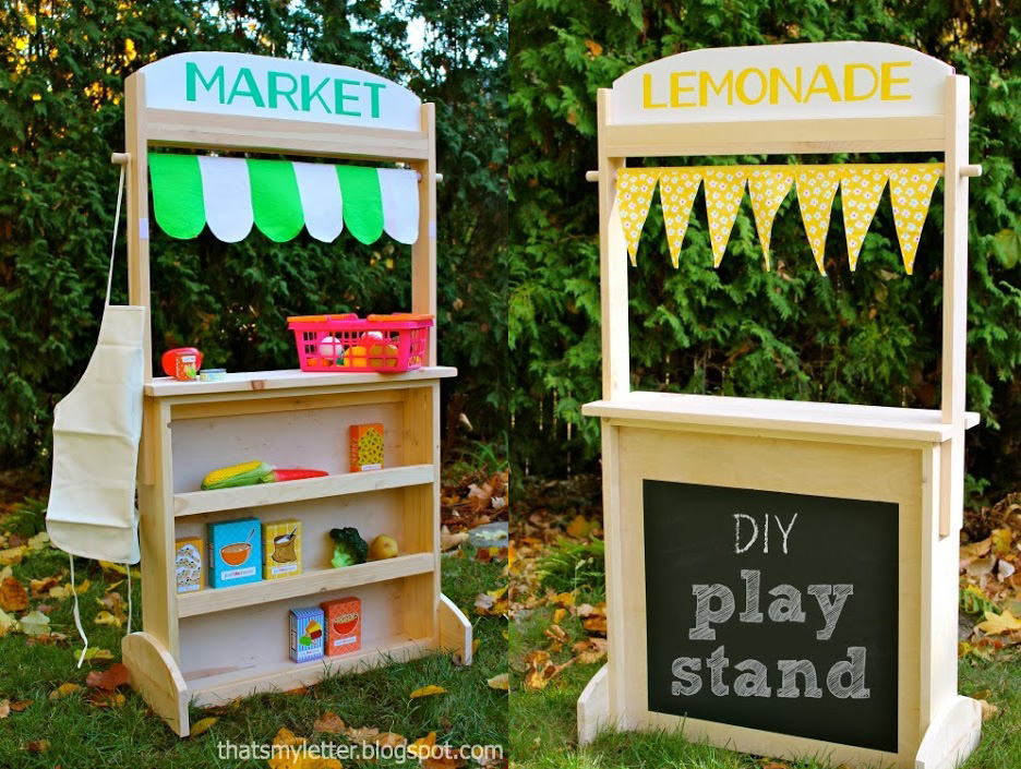 market stand toy lemonade stand plans