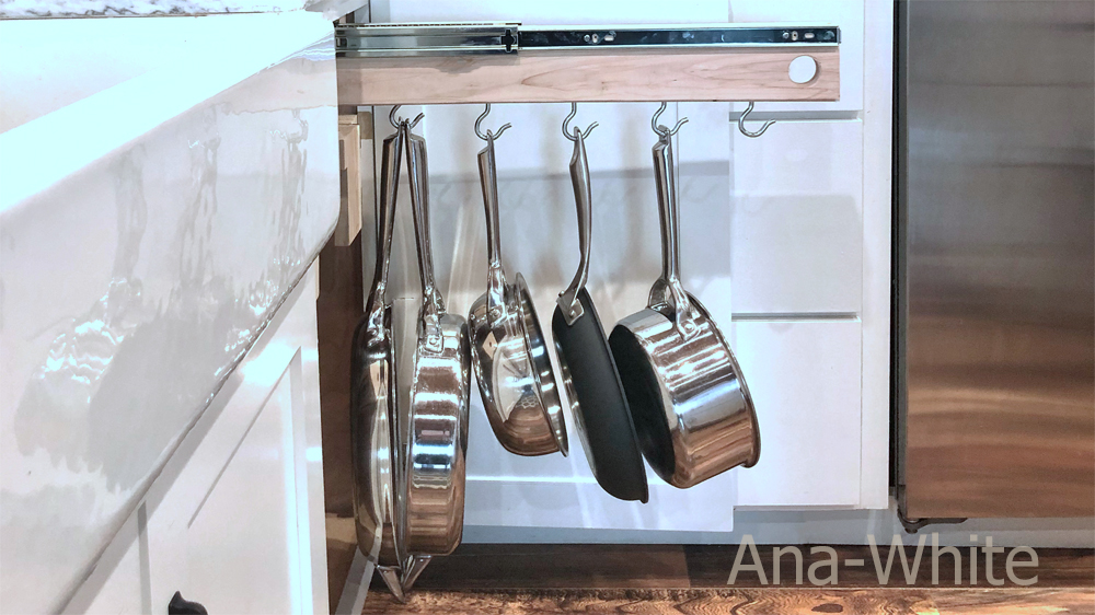 Pull Out Pot and Pan Organizer