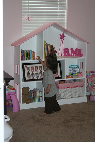 This Bookcase In No Time I Have Always Loved Simple Design There Are Alot Of Retail Options For Dollhouse Bookcases Like One