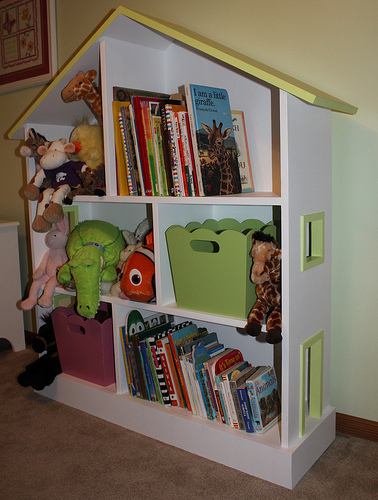 ... This Bookcase In No Time. I Have Always Loved This Simple Design. There  Are Alot Of Retail Options For Dollhouse Bookcases, Like This One.