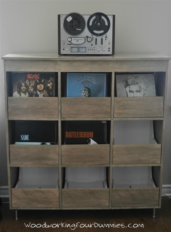 vinyl record storage cabinet plans | Home Decor