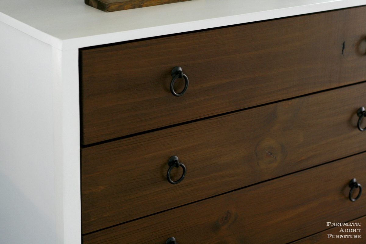 white dresser drawers plain white modern white dresser with wood drawers ana diy projects