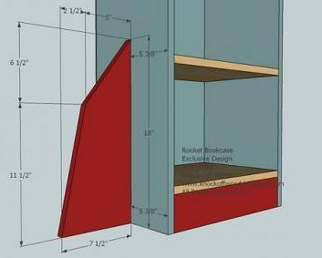 Attach The Shelves B To Sides A As Shown Above