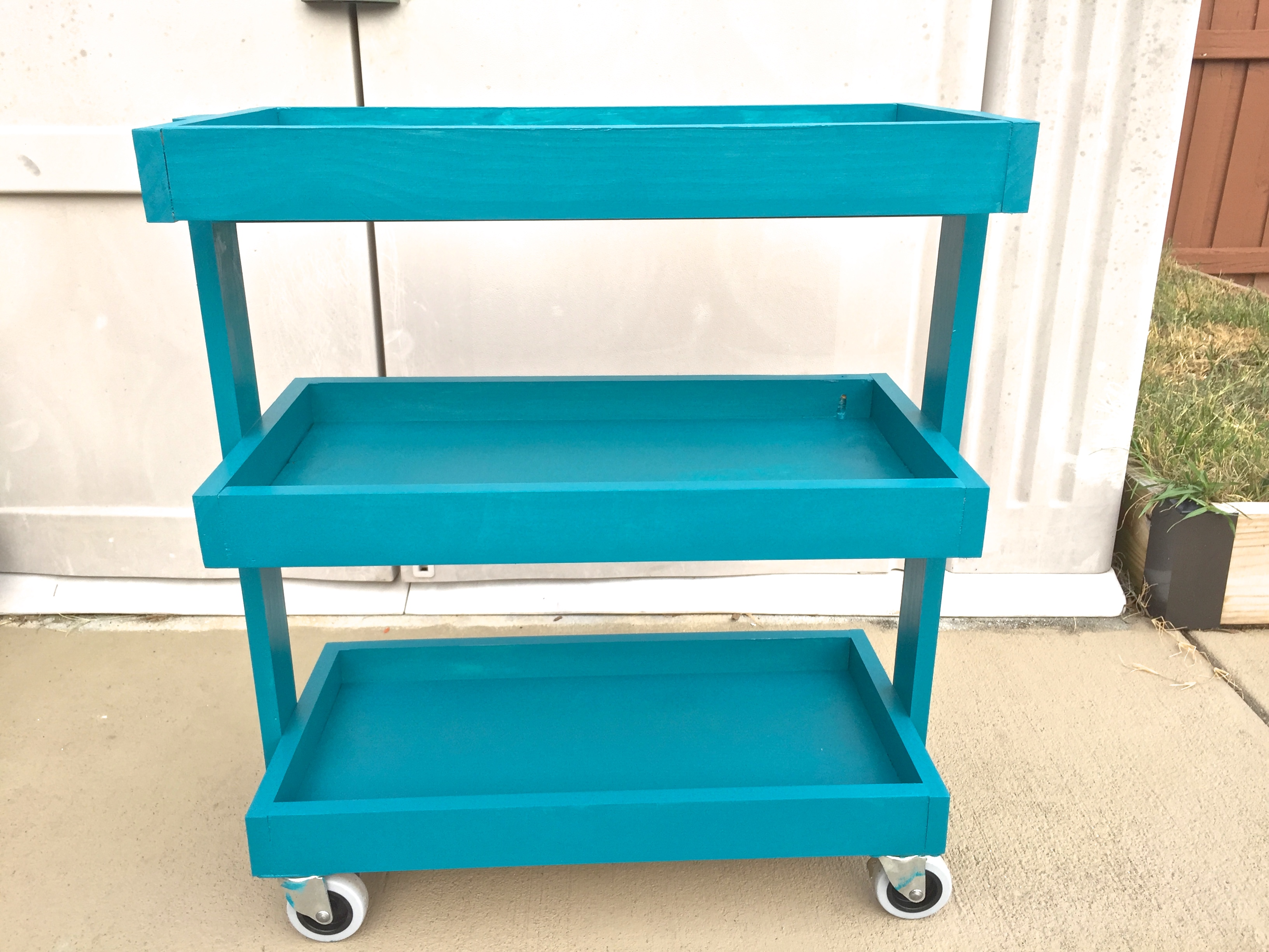Ana White | rolling storage cart - DIY Projects