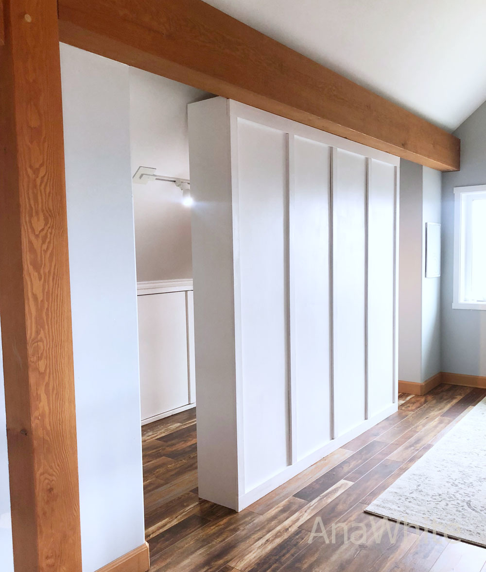 Ana White Room Divider Closet Diy Projects