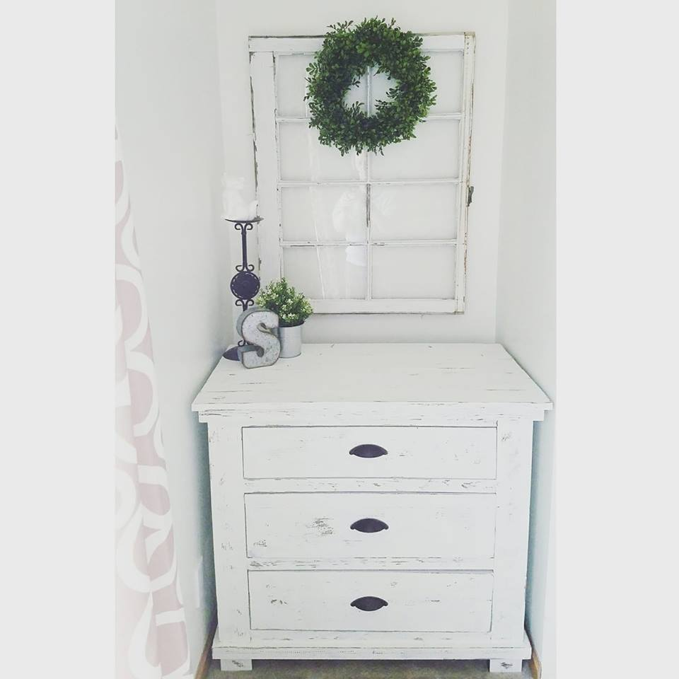 Ana White | Rustic Bath Vanities Turned Dressers - DIY Projects