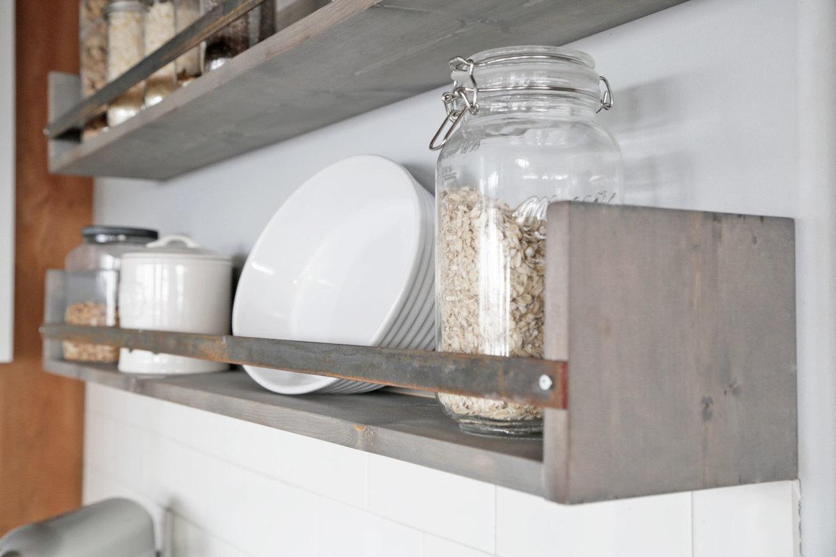 Rustic Shelves Ana White