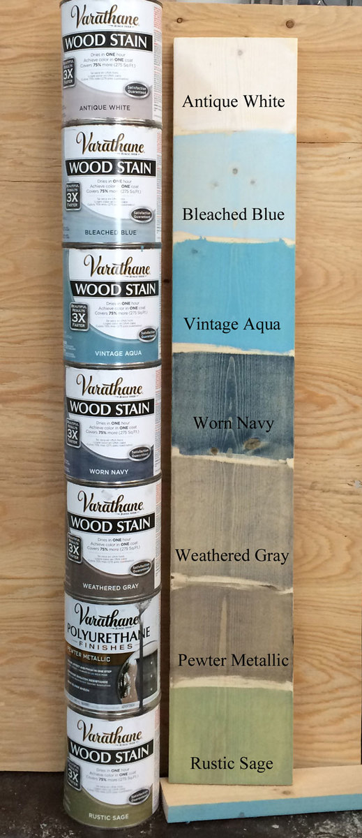 With All My Favorite Stain I Create Boards So Can Easily Reference What Each Color Looks Like On Diffe Wood Species