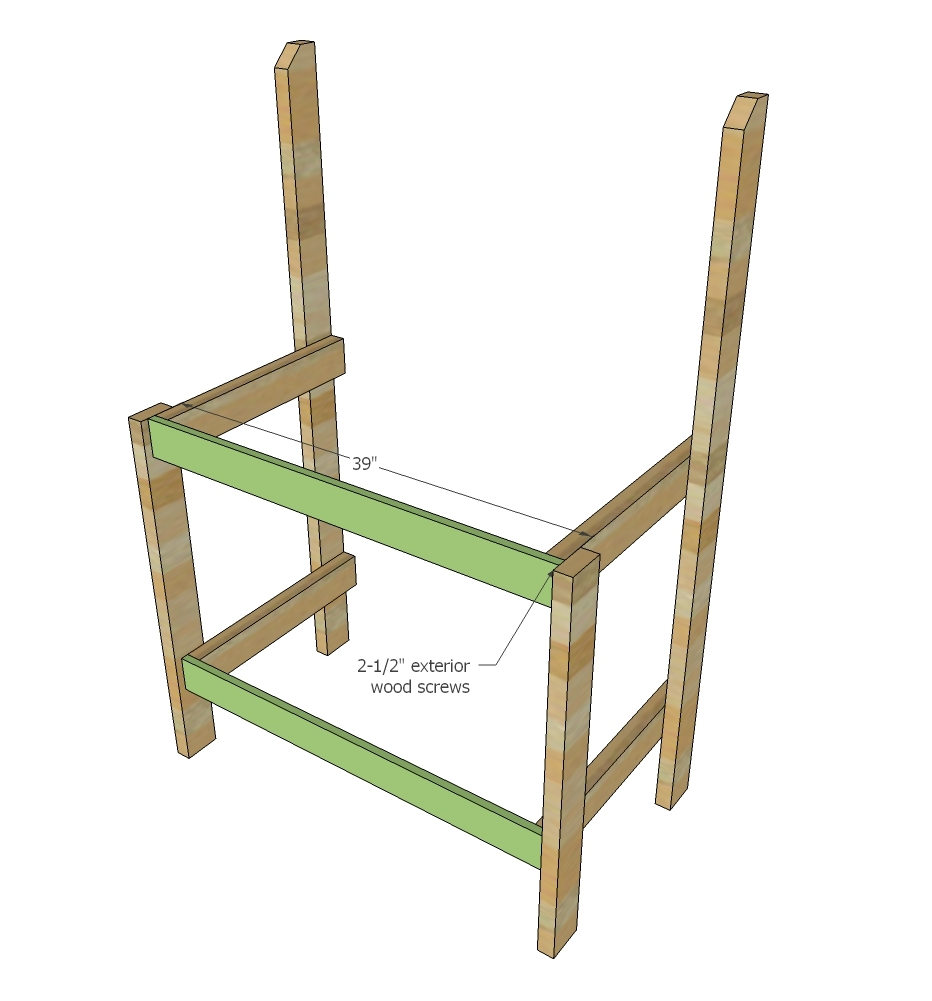 Magnificent Simple 2X4 Potting Bench Ana White Squirreltailoven Fun Painted Chair Ideas Images Squirreltailovenorg