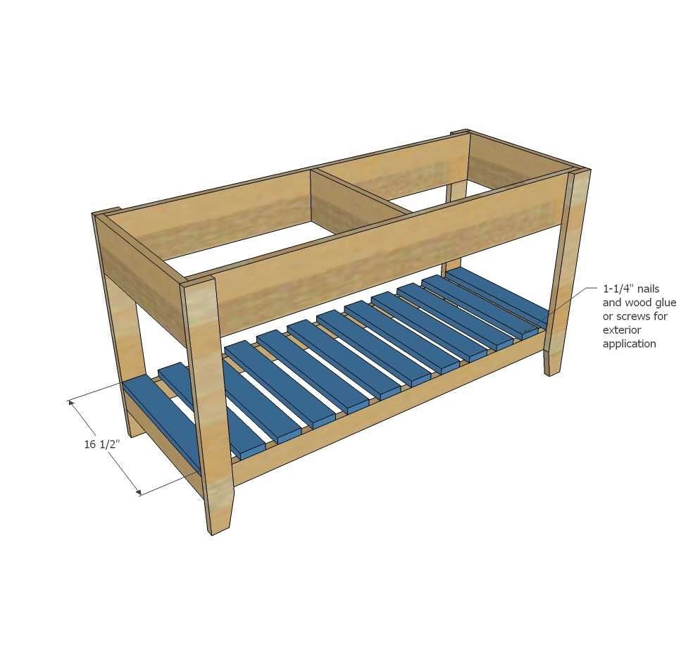 Ana white sand and water play table diy projects for Diy play table plans