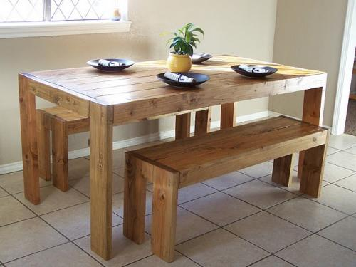 ana white | modern farm table - diy projects