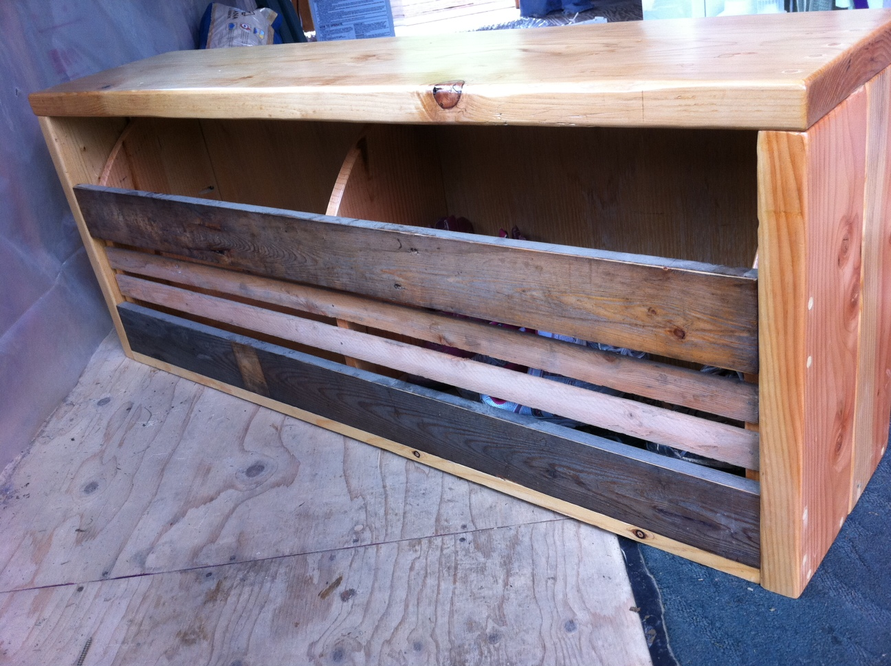 Ana White Shoe Bench 28 Images Ana White Shoe Storage Flip Top Bench First Attempt At Ana
