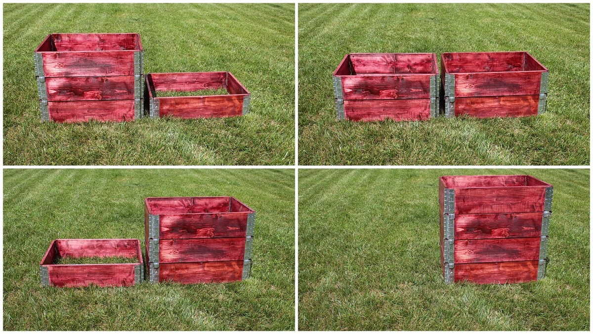 Ana White Simple Stackable Compost Bin From Pallets Collars Diy
