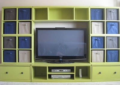 Not To Mention Claiming A Little Extra Storage And Solving A Common Design  Problem   How To Decorate Over The TV.