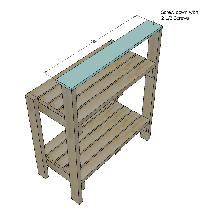 Good Gardening Bench Plans Part - 7: Step 4 Instructions: